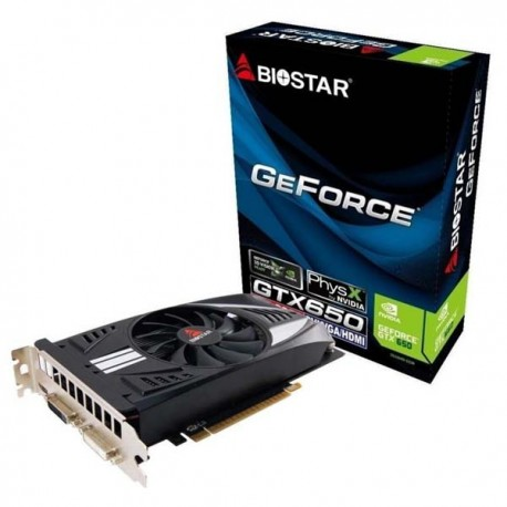 Biostar Geforce GTX 650 1GB DDR5 128 Bit VGA
