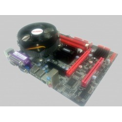 VARRO G41X FM6 +XEON DC 2,33Ghz (PCIe16x,ddr3,vga,sc,lan)