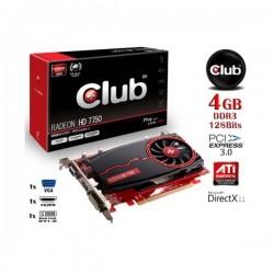 Club Radeon HD7750 4GB DDR3 128 Bit VGA