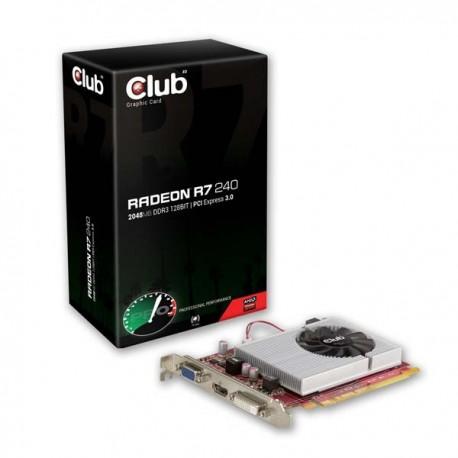 Club Radeon R7 240 2GB DDR3 128 Bit VGA
