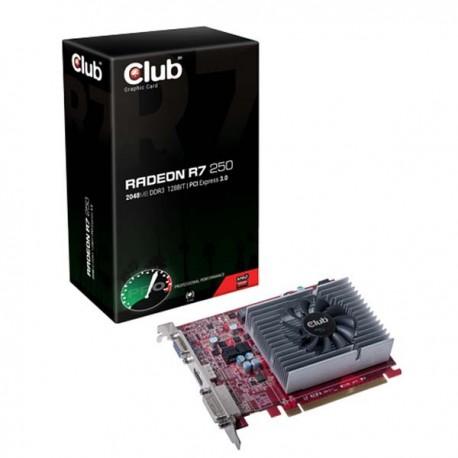 Club Radeon R7 250 2GB DDR3 128 Bit VGA