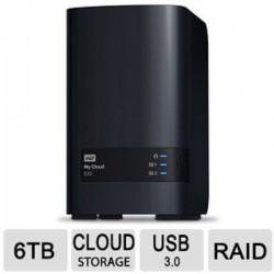 WD WDBCTL0040HWT-NESN My Cloud EX2 6TB