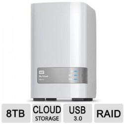 WD WDBCTL0040HWT-NESN My Cloud Mirror 8TB
