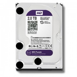 WDC Purple WD20PURX 2TB For CCTV 24 Hours