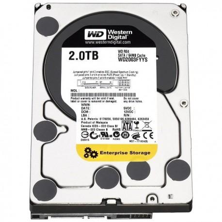 WDC WD2000FYYZ NAS RE 2TB 7200RPM SATA3 Hardisk