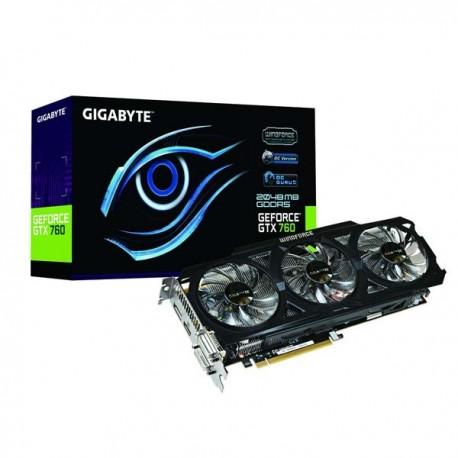 Gigabyte GV-N760OC-2GD Geforce GTX760 2048MB DDR5 VGA