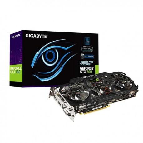 Gigabyte GV-N760OC-4GD Geforce GTX760 4096MB DDR5 VGA