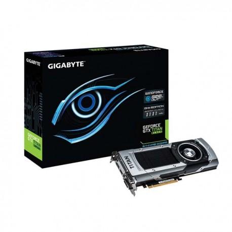 Gigabyte GV-NTITANBLKGHZ-6GD-B Geforce GTX TITAN Black 6144MB DDR5 VGA