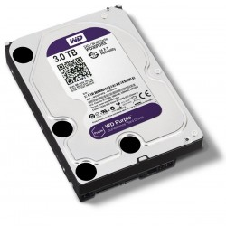 WDC WD30PURX Purple 3TB For CCTV 24 Hours