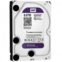 WDC WD60PURX Purple 6TB For CCTV 24 Hours