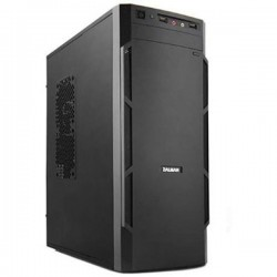 Zalman ZM-T1 Black Steel Plastic MicroATX Mini Tower