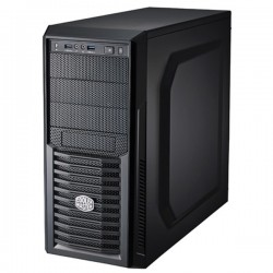 Cooler Master K282 GAMING CHASSIS SIDE WINDOW + HOT SWAP DOCKING Casing