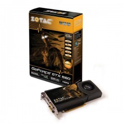 Zotac Geforce GTX 560 Ti 1024MB DDR5 AMP VGA