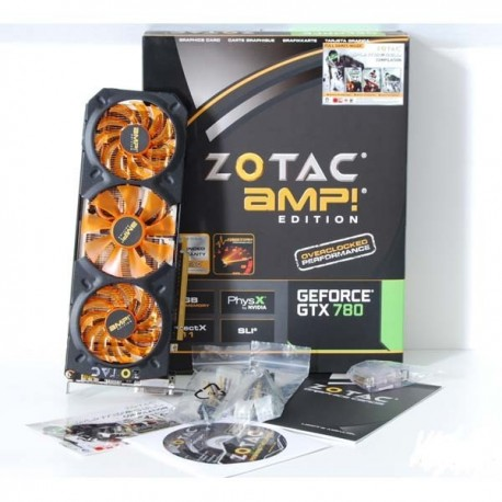 Zotac Geforce GTX 780 TI 3072MB DDR5 AMP ! VGA