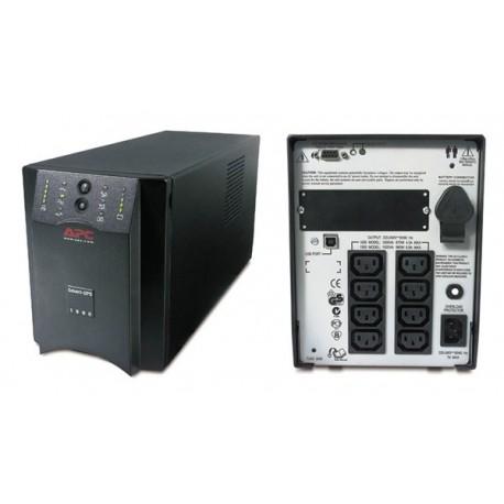 APC SUA1500i Smart UPS 1500VA, USB/Serial Connection, Black Casing Weight 27Kg