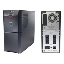 APC SUA2200i Smart UPS 2200VA, USB/Serial Connection, Black Casing Weight 65Kg
