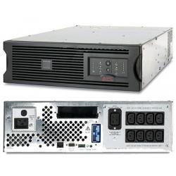 APC SUA2200RMXLI3U Smart UPS RM 2200VA, 3U, Black Casing