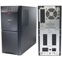 APC SUA3000i Smart UPS 3000VA, USB/Serial Connection, Black Casing Weight 65Kg