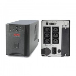 APC SUA750i Smart UPS 750VA, USB/Serial Connection, Black Casing Weight 15Kg