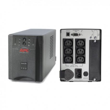 APC SUA750i Smart UPS 750VA, USB/Serial Connection, Black Casing Weight 15Kg