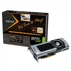 Zotac Geforce GTX TITAN BLACK 6144MB DDR5 VGA
