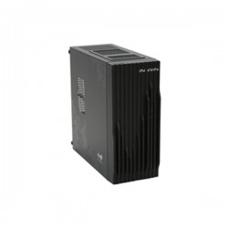 IN WIN wavy Black Mini-ITX Tower Computer Casing 120W