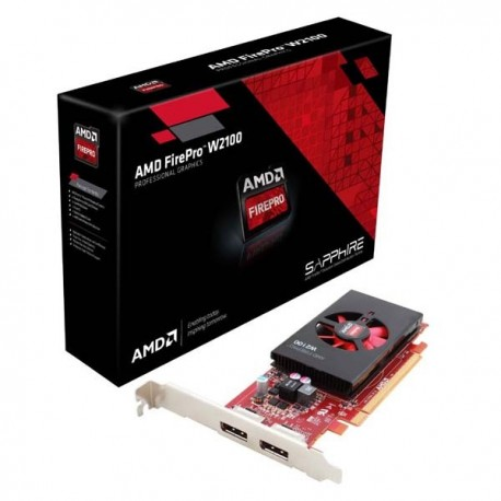 Sapphire 100-505821 AMD FIREPRO W2100 2G DDR3 VGA