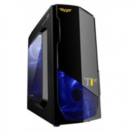 PowerPower Logic Armageddon Nanotron T1X - No PSU - No DVDRW Slot - BLACK Casing