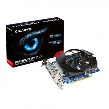Gigabyte GV-R726XOC-2GD Radeon R7 260X 2GB 128BIT GDDR5 VGA
