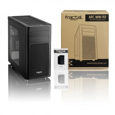 Fractal Arc Mini R2 Window Black Casing