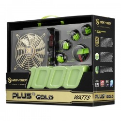 High Power HP-1000 Watt 80+ Gold Power Supply