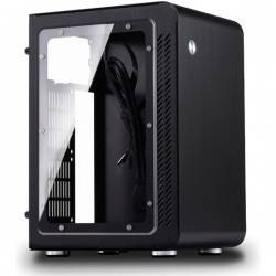 Jonsbo U1 Window Black - Mini ITX, SFX PSU, Window Casing