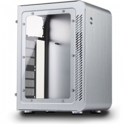 Jonsbo U1 Window Silver - Mini ITX, SFX PSU, Window Casing