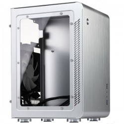 Jonsbo U2 Window Silver - Mini ITX, ATX PSU, Window Casing