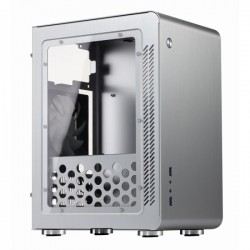 Jonsbo U3 Silver Window - Micro ATX, ATX PSU, Window Casing