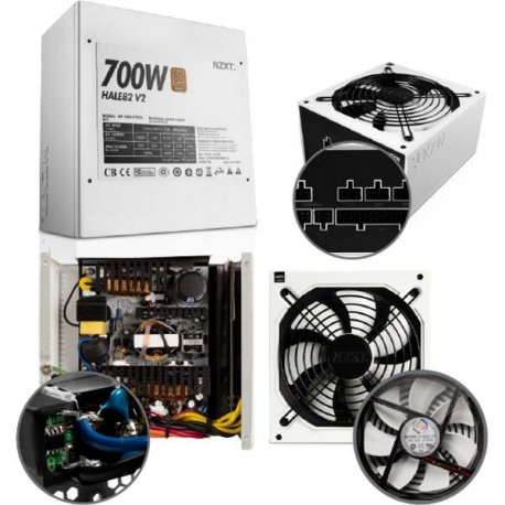 NZXT HALE82 V2 700W Power Supply