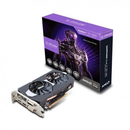 Sapphire 100370L Radeon R7 265 2G GDDR5 Dual-X VGA
