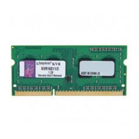Kingston DDR3 2GB PC12800 Single Channel Memory