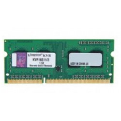 Kingston SO-DIMM DDR3 2GB PC12800 Single Channel Memory