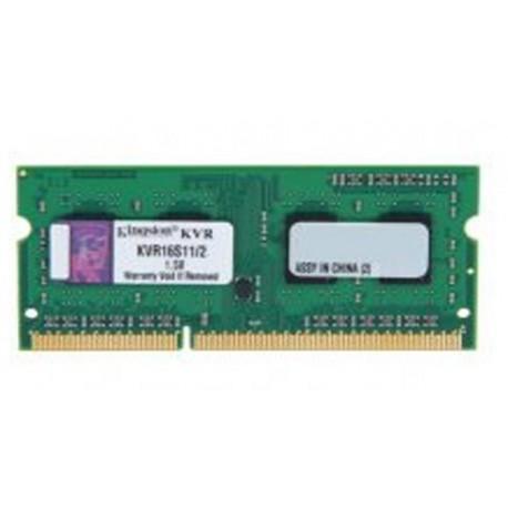 Kingston SO-DIMM DDR3 2GB PC12800 Single Channel Memory