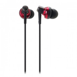 Audio Technica ATH CKM500 , Inner Earphone Red