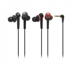 Audio Technica ATH CKS77 , Solid Bass Inner Earphone Black
