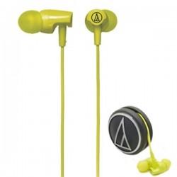 Audio Technica ATH CLR100 , Inner Earphone Light Green
