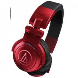Audio Technica ATH PRO500MK2 , Pro DJ Headsets Red