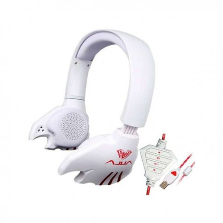 Aula Electronic Music Ghost Headset 7.1 White Limited