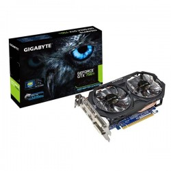 Gigabyte GV-N75TWF2OC-2GI Geforce GTX750 Ti 2048MB DDR5 VGA