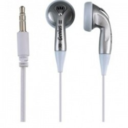 Genius GHP-02S, ear bud Headset(Silver)