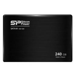 """Silicon Power 240GB S60 3K P/E Cycle Toggle MLC 2.5"""" Ultra Slim"""