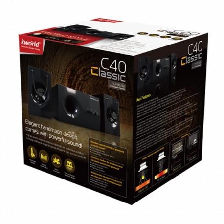 Kworld C40 2.1 Clearance 6 Bln Speaker