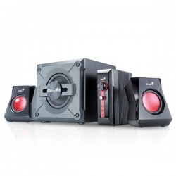 Genius SW-G 2.1 1250, 38W,Volume Control,Mic in,Control box Speaker